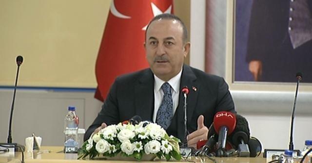 """Dışişleri Bakanı Çavuşoğlu: """"Aziz şehitlerimizin kanı hiçbir zaman yerde kalmadı, kalmayacak"""""""