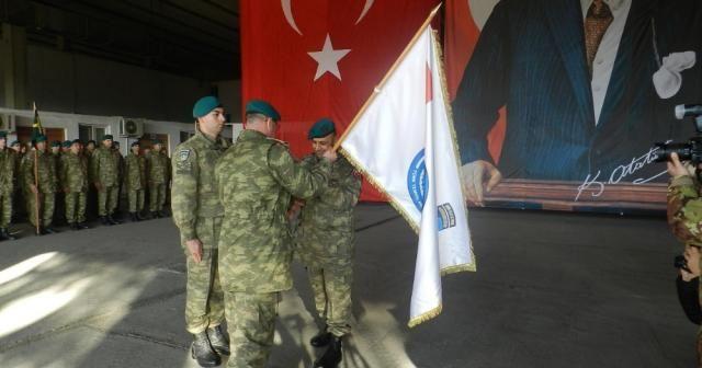 Kosova'da görev yapan Türk askerinde devir teslim töreni