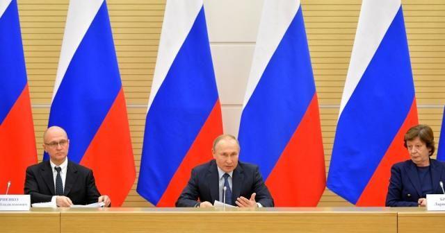 Putin, yeni anayasa çalışma grubuyla toplantı yaptı