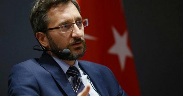 İletişim Başkanı Altun'dan Korona virüse karşı alınan tedbirler hakkında açıklama