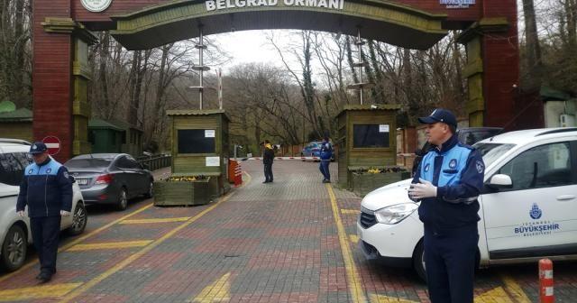 Piknik yasağının ardından Belgrad Ormanı girişlere kapatıldı