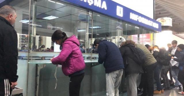 Ankara Otobüs terminalinde sehayat izni yoğunluğu