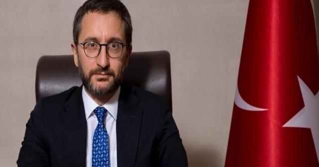 İletişim Başkanı Altun'dan koronavirüsle salgınına yönelik tedbirlere ilişkin açıklama