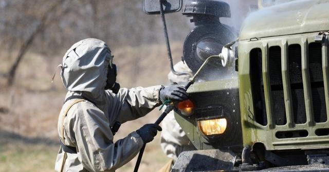 Rus ordusundan 'korona virüsü' tatbikatları