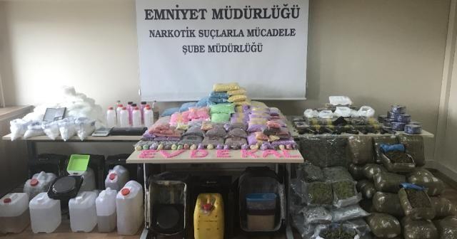İstanbul'da uyuşturucu operasyonu: 35 milyon liralık uyuşturucu ele geçirildi