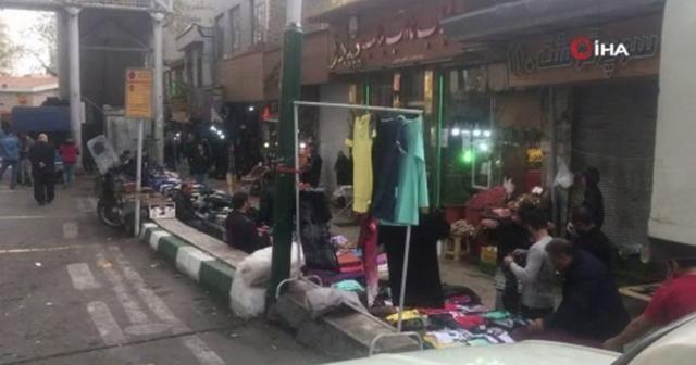 Tahran'da vaka sayısı düşerken, dükkanlar ve mağazalar açılıyor