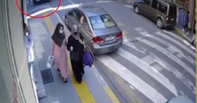 7 yaşındaki Emir'in hayatını kaybettiği kaza kamerada