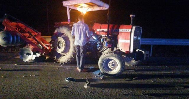 Adana Kozan karayolunda feci kaza: 1'i ağır 10 yaralı