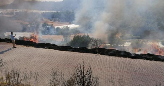 Xanthos Antik Kenti'ni tehdit eden yangın