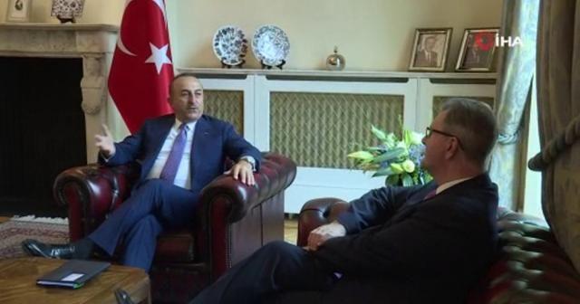 Bakan Çavuşoğlu, Birleşik Krallık Parlamentosu Türkiye Grubu Başkanı Donaldson'u kabul etti