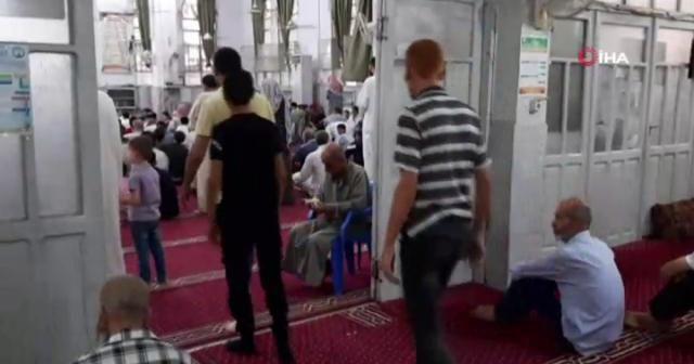 İdlib'de bayram namazı kılındı