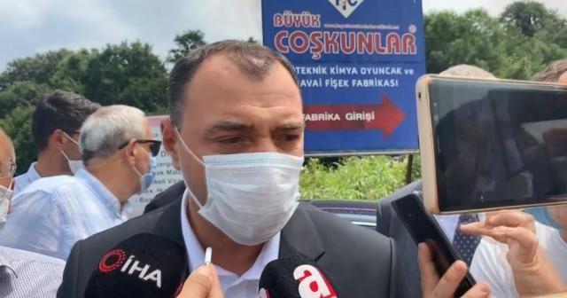 """Sakarya Valisi Kaldırım: """"50 yaralıyı hastanelerimize intikal ettirdik, can kaybımız yok"""""""