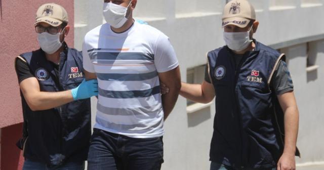 Terör örgütüne finans sağlayan zanlı tutuklandı