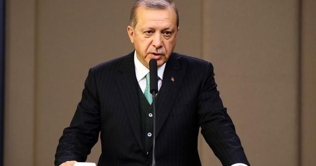 Üçlü zirvede Cumhurbaşkanı Erdoğan'dan önemli Suriye mesajı