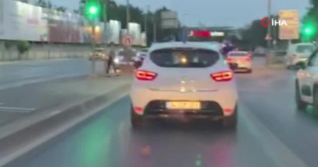 İstanbul'da gelin arabası dahil 3 araca ceza yazıldı