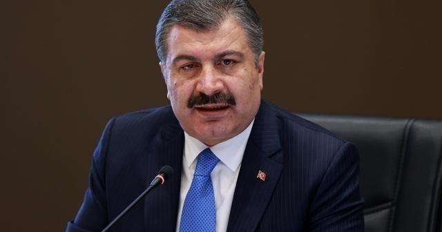 """Sağlık Bakanı Koca: """"Yüz yüze eğitim en az bir ay başlatılmamalı"""""""