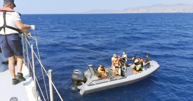 23 sığınmacı kurtarıldı