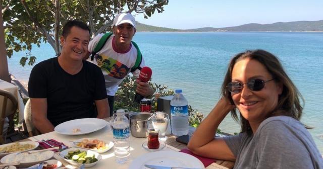 Acun Ilıcalı ve Hülya Avşar'ın geleneksel buluşması