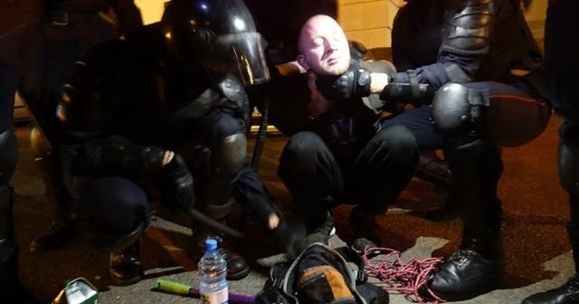 Belarus'ta gece boyunca gerilim devam etti
