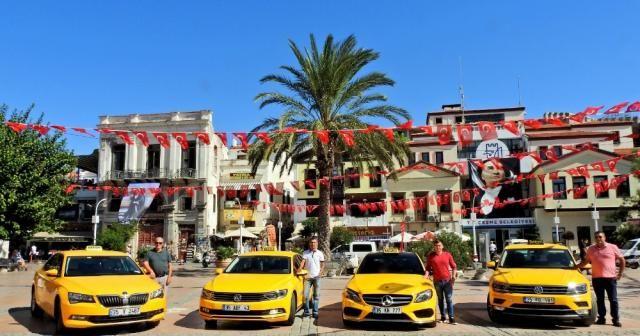 Çeşme'de de taksi ücretlerine zam