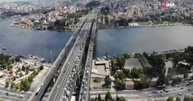 Haliç Köprüsü'nde çalışmanın 2. etabı başlıyor