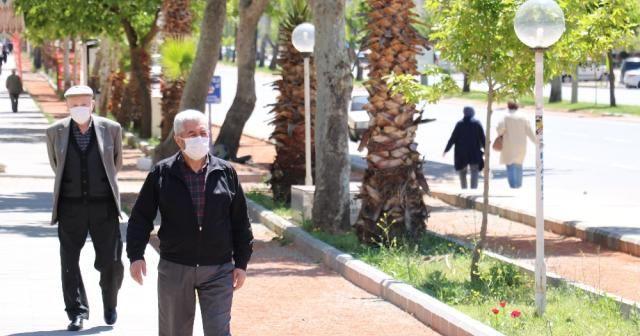 Kahramanmaraş'ta 65 yaş üstü vatandaşlara kısıtlama