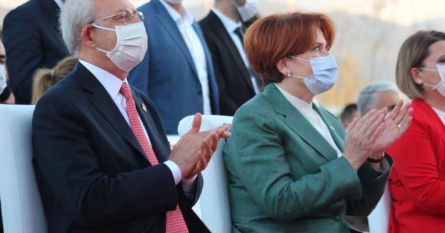 Kemal Kılıçdaroğlu ve Meral Akşener uzun bir süre sonra aynı sahnede