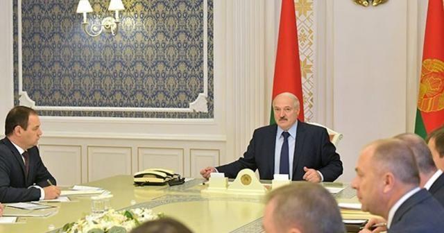 Lukaşenko, Güvenlik Konseyi üyeleri ile acil durum toplantısı yaptı
