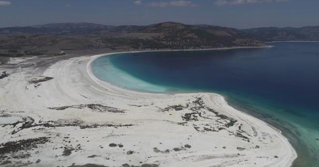 NASA'dan salda gölü paylaşımı