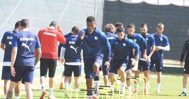 BB Erzurumspor, Kayserispor maçı hazırlıklarını tamamladı