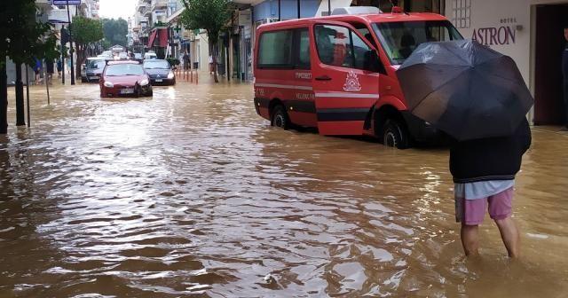 Yunanistan'da etkili olan Medicane tropik fırtınasında 2 kişi öldü