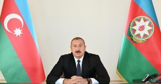 """Aliyev'den çok sert Dağlık Karabağ çıkışı: """"Dışarıdan müdahale olursa F-16'ları görecekler"""""""
