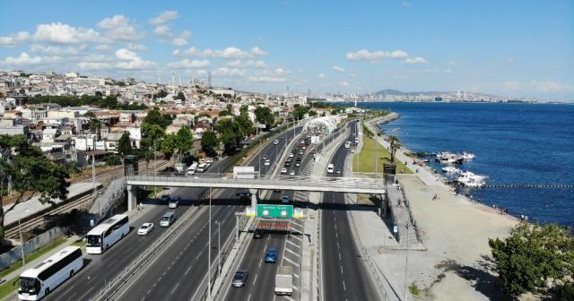 Avrasya Tüneli bakım onarım çalışmaları için hizmete kapatıldı