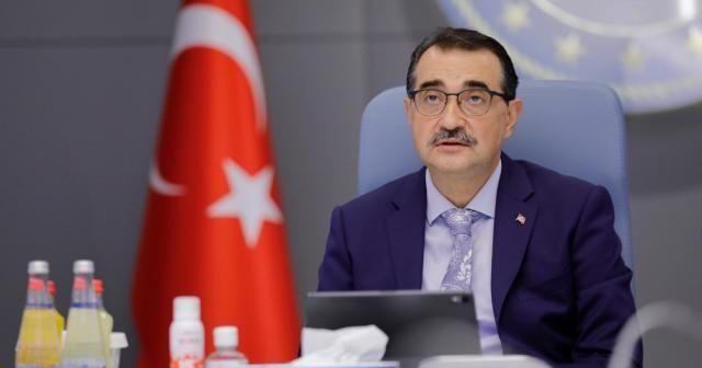 """Bakan Dönmez: """"İnşallah Karadeniz'deki gibi benzer bir keşfi de Doğu Akdeniz'de yakalayabiliriz"""""""