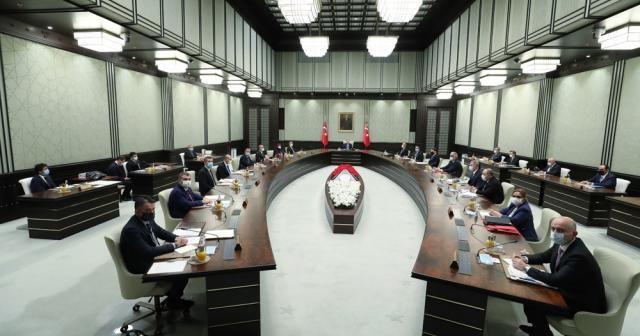 Cumhurbaşkanlığı Kabinesi, Cumhurbaşkanı Erdoğan başkanlığında Beştepe'de toplandı