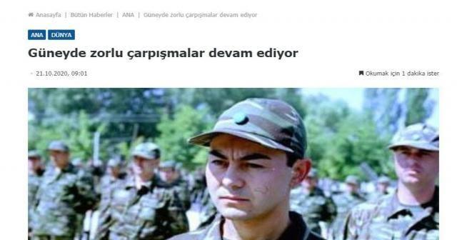 Ermenistan basınından skandal Serdar Ortaç paylaşımı