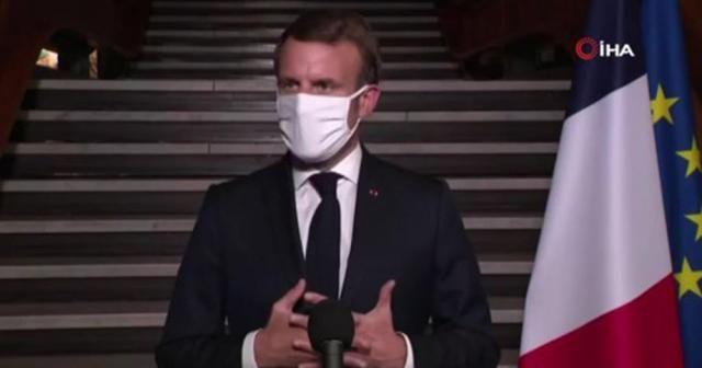 """Fransa Cumhurbaşkanı Macron: """"İslami radikalleşme ve terörle mücadeleyi yoğunlaştıracağız"""""""