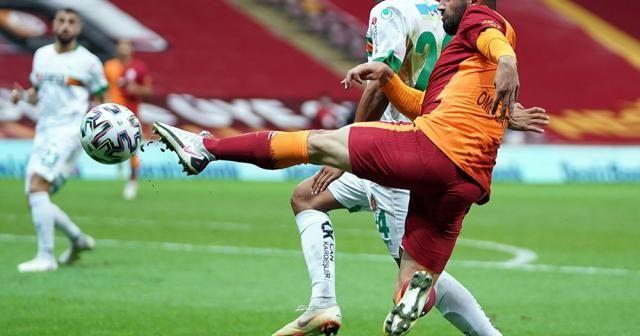 Galatasaray, 90 artı 5'te yediği golle Alanyaspor'a 2-1 yenildi