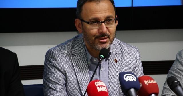 Gençlik ve Spor Bakanı Kasapoğlu Çorum'da