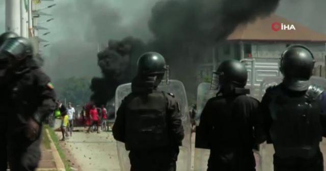 Gine Cumhuriyetinde seçim karşıtı protesto: 9 ölü