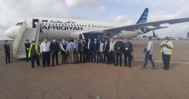 Libya'nın doğusu ve batısı arasında uçuşlar başladı