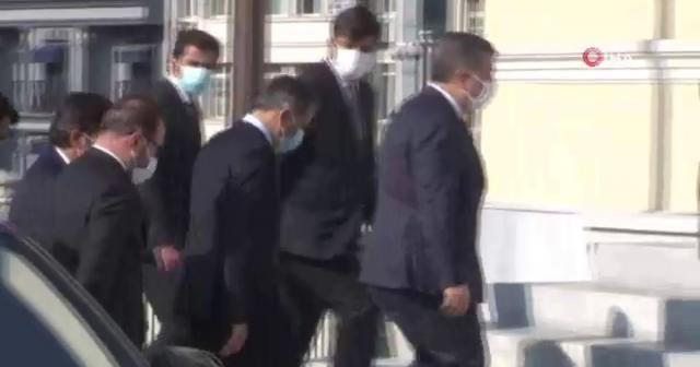 Sağlık Bakanı Fahrettin Koca, İstanbul Valiliği'nde