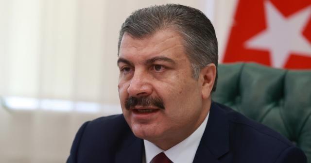 """Sağlık Bakanı Koca: """"Milletçe başımız sağ olsun"""""""