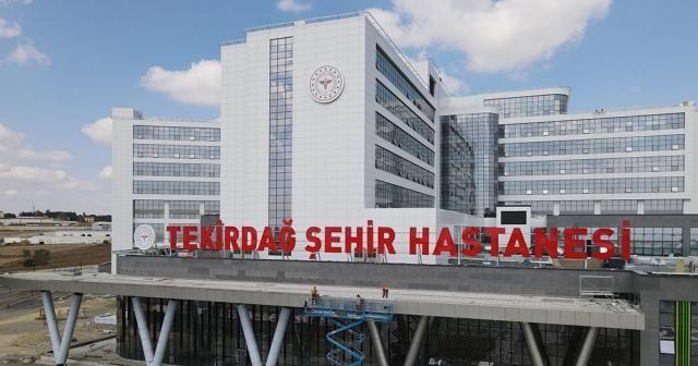 Türkiye'nin batıya açılan sağlık kapısı açılış için gün sayıyor