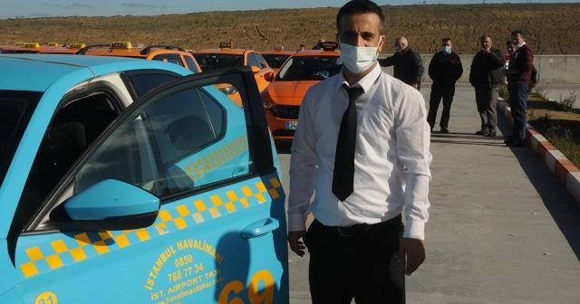 Araçta unutulan 300 bin euroyu sahibine teslim eden o taksici konuştu