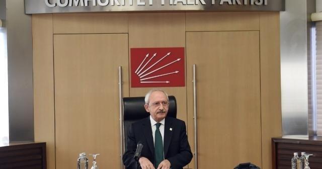 CHP Genel Başkanı Kılıçdaroğlu, KESK heyetini kabul etti