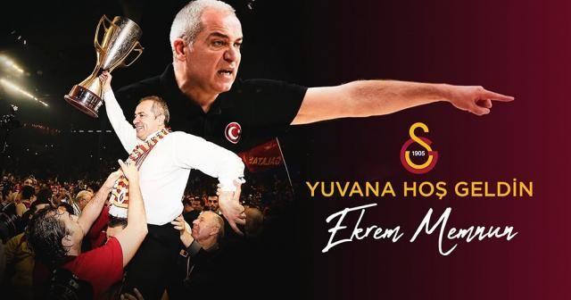 Galatasaray Erkek Basketbol Takımı, Ekrem Memnun'a emanet