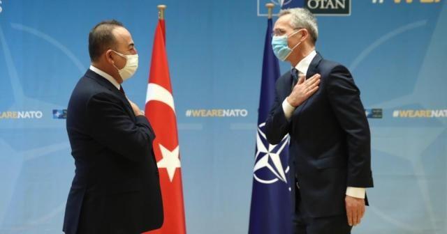 Bakan Çavuşoğlu, NATO Genel Sekreteri Stoltenberg ile görüştü