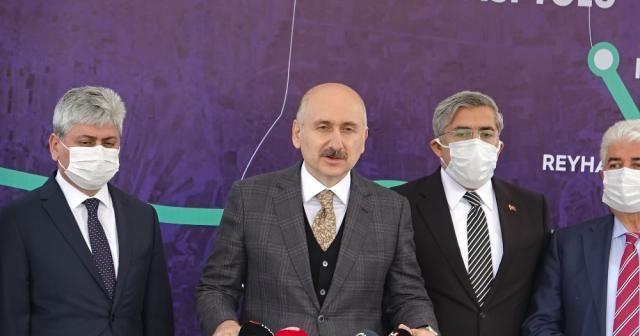 """Bakan Karaismailoğlu: """"Projelerimiz üretimi, istihdamı, turizmi ve tarımı geliştiriyor"""""""
