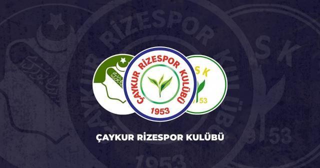Çaykur Rizespor'dan Oğulcan Çağlayan açıklaması